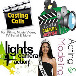 Modeling Acting Auditions for Theater TV Ads Films Reality