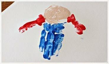 Cara Membuat Kerajinan Tangan Yang Mudah Untuk Anak - Lukisan Boneka Sawah 2