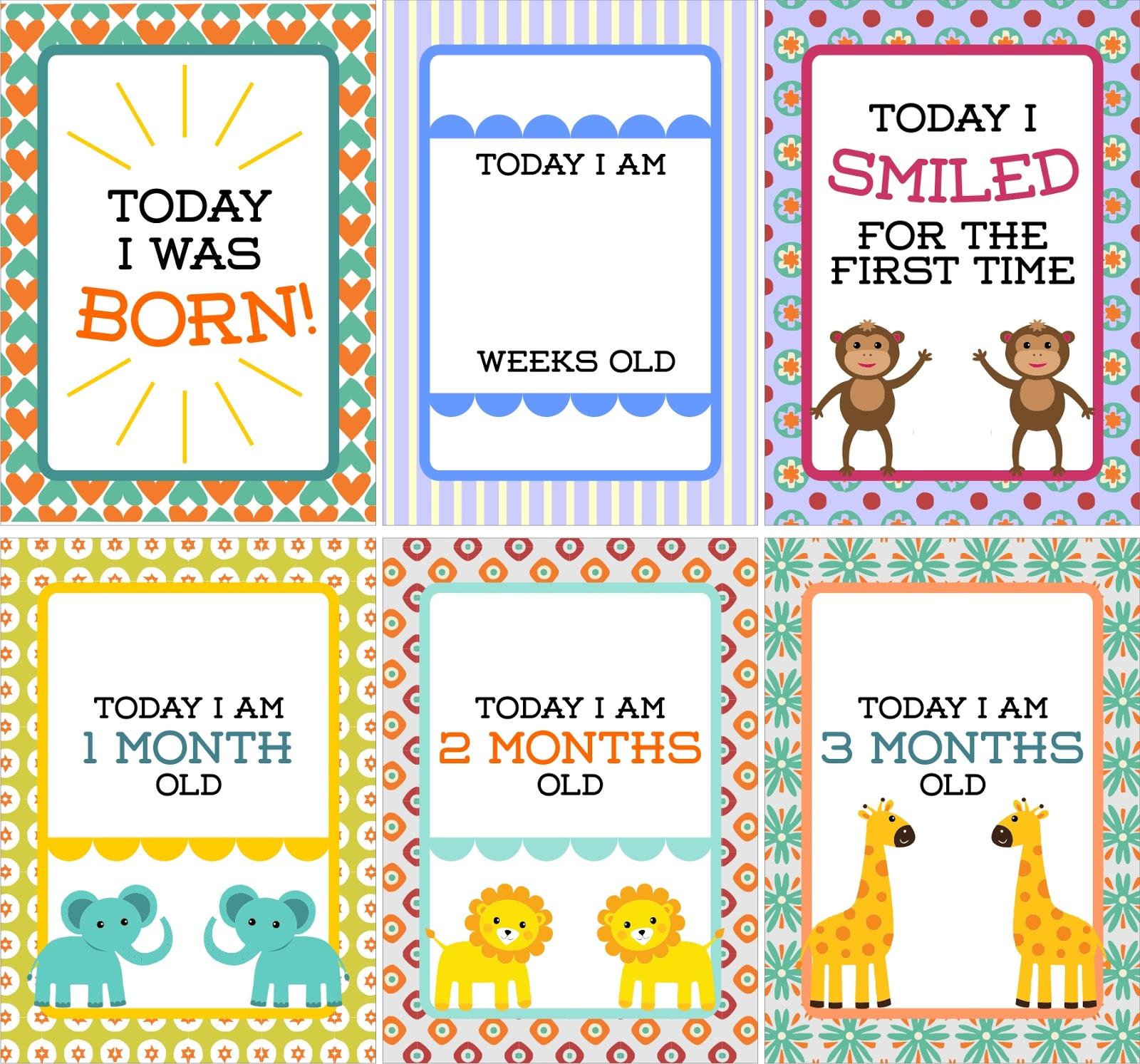 Ima Febriyanti Rahman Milestone Baby Card