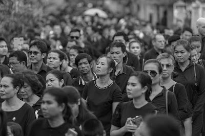 Cremation ceremony of H.M. the late King Bhumibol Adulyedej on Koh Samui