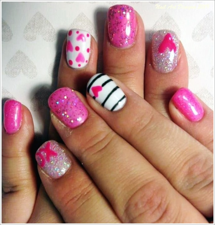 15 Cool Pretty Pink Nails Designs 2019