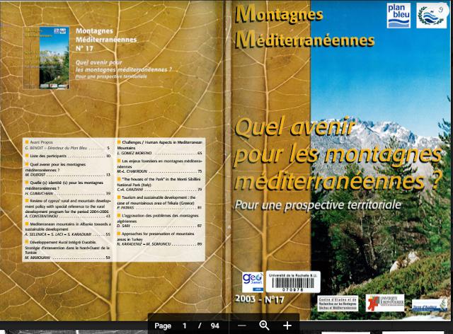 Quel Avenir Pour Les Montagnes Méditerranéennes PDF