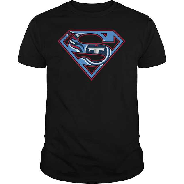 Tennessee Titans Superman Logo Shirt