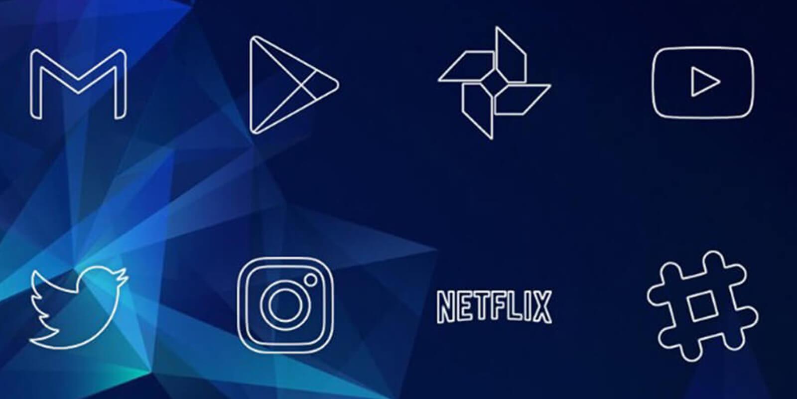 iconos Líneas Icon Pack