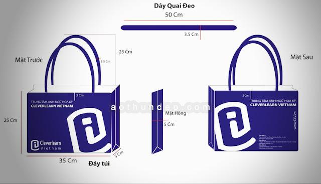 Design Pattern Nonwoven Fabric Bag