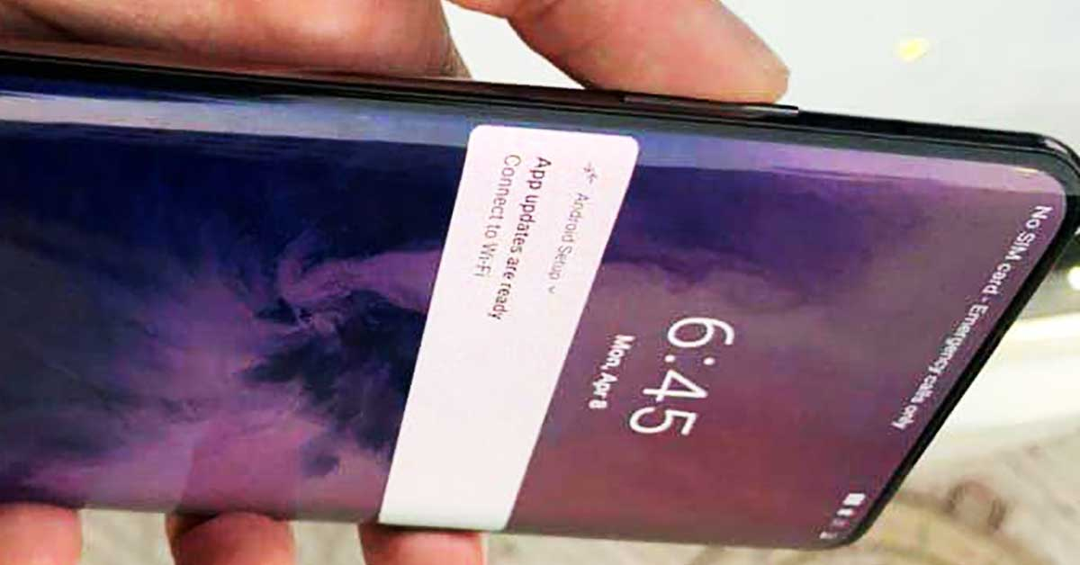 OnePlus-7-Pro-has-Notchless-6.67-inch-display-OnePlus-Confirmed