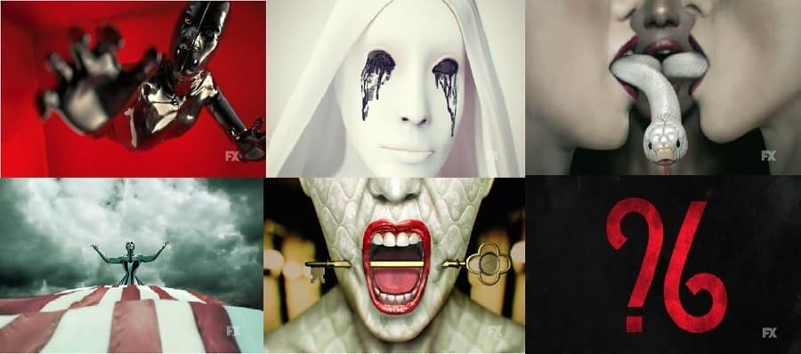 Série American Horror Story - Todas as Temporadas Dublada para download via