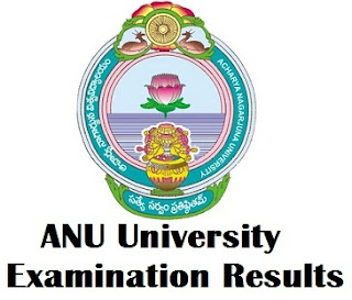 Acharya Nagarjuna University Degree Exam Results 2017