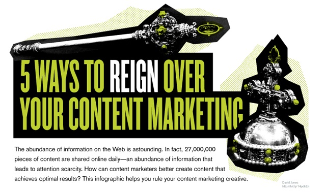 5 Ways To Reign Over Your Content Marketing