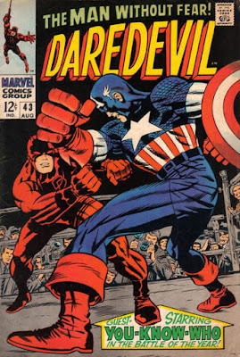 Daredevil #43, Captain America