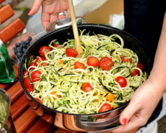 Zucchini Spiral 'Noodle' Salad