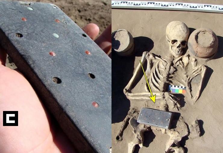 Arqueólogos encuentran un 'iPhone' de 2,100 años de antigüedad