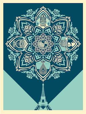 "Obey Giant ""A Delicate Balance"" Screen Print by Shepard Fairey"
