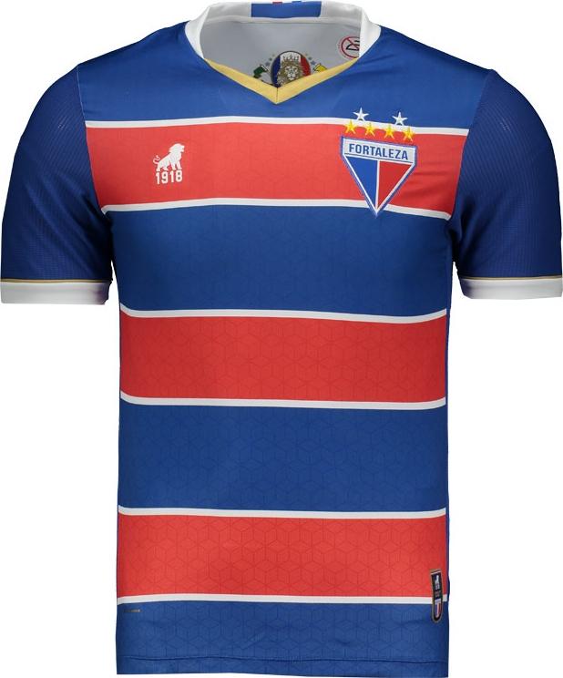 058e0a78e1 Leão 1918 lança a nova camisa titular do Fortaleza - Show de Camisas