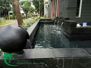 jasa pembuatan kolam koi di cibubur