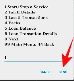 airtel me start service ko deactivate kese kare 3