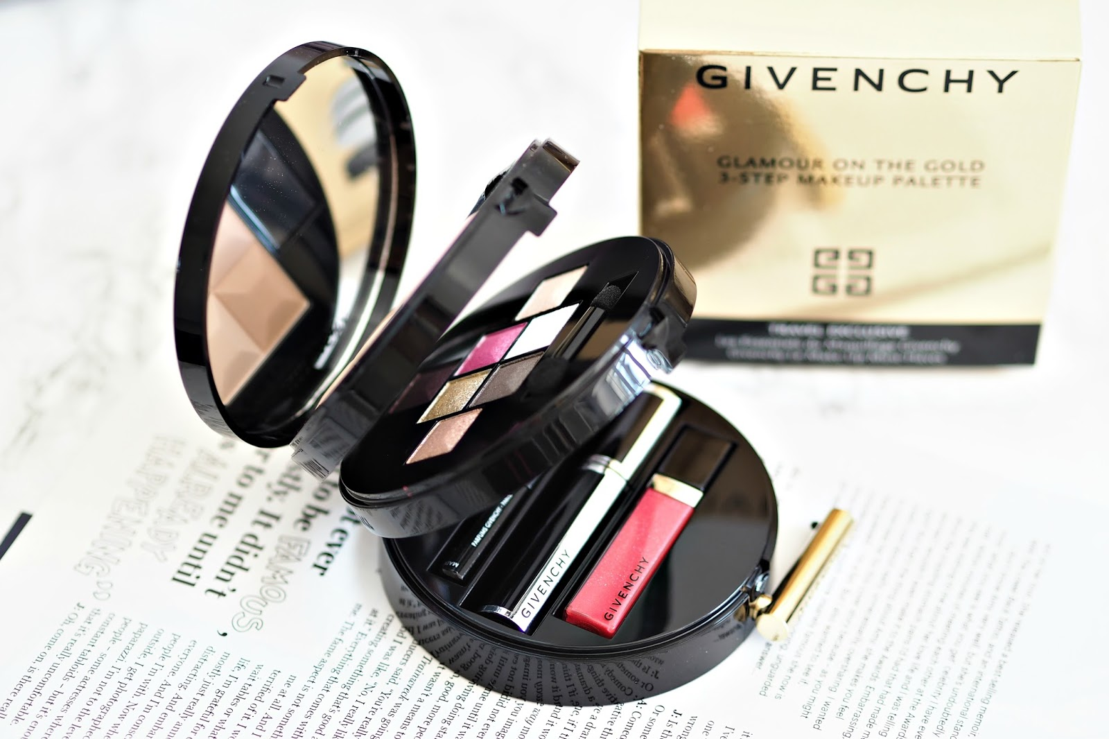 Givenchy Glamour On The Gold travel exclusive