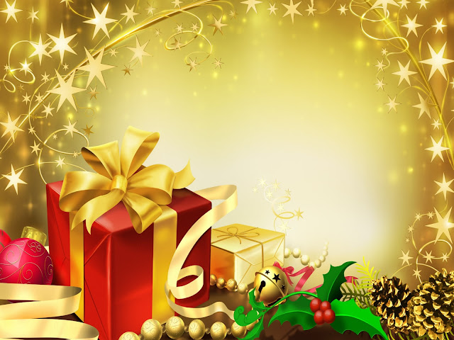 merry xmas hd gift images for ipad wallpapers