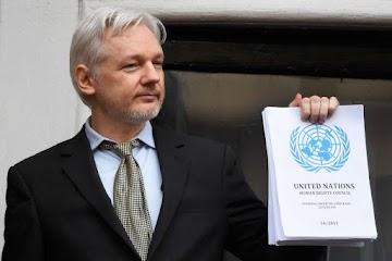 Julian Assange está sendo crucificado por expor a verdade ao mundo