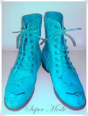 *Super Mode* Boots, piele naturala nabuc, impecabile!