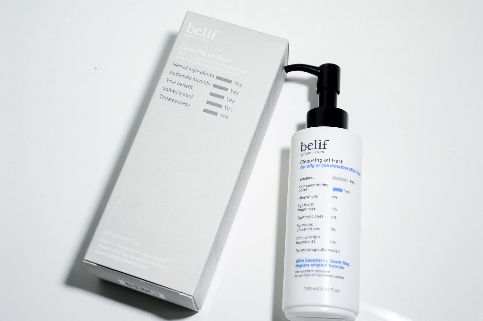 REVIEW| 1  Christmas With Belif: Cleansing Oil Fresh