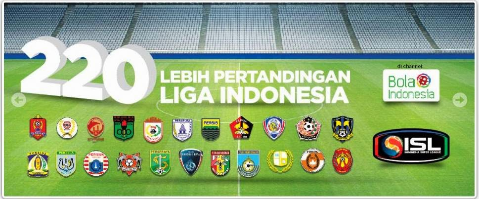 channel tv kvision sepakbola liga indonesia