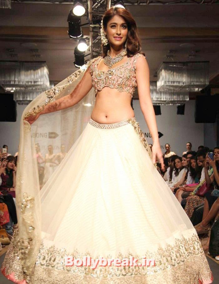 Ileana DCruz, Ileana D'Cruz at Anushree Reddy Show - Lakme Fashion Week