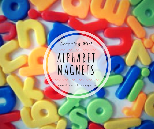 Image of alphabet magnets
