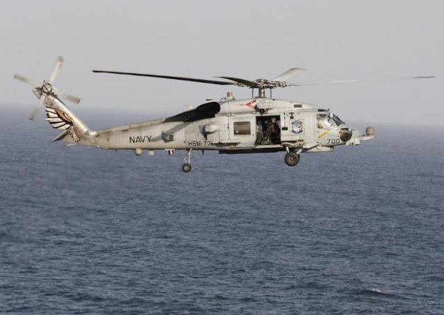 Iranian Vessel Made 'Unsafe' Action Against US Helicopter -Officials