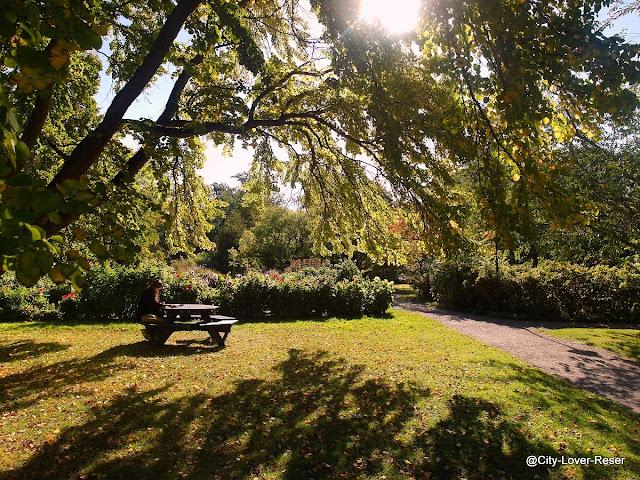 Sweden, Lund - botanical gardens