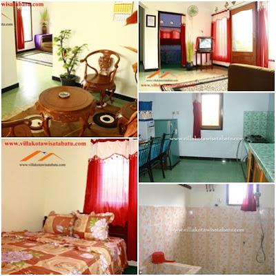 fasilitas homestay kiki kota batu 3 kamar