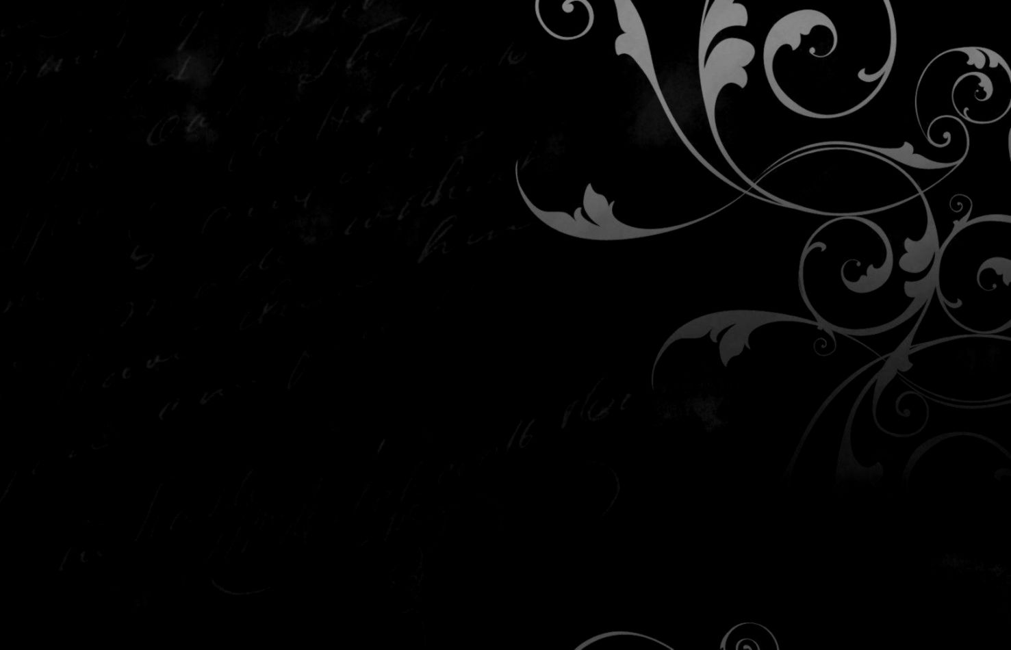 Black Abstract Wallpaper Hd | Silver Wallpapers