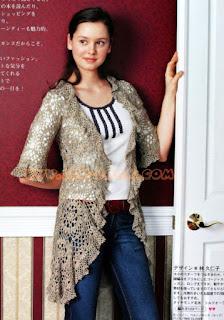 Crochet Patterns for free crochet cardigan 1506