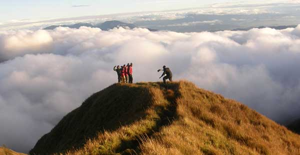 Mount Pulag in Baguio City, Philippines
