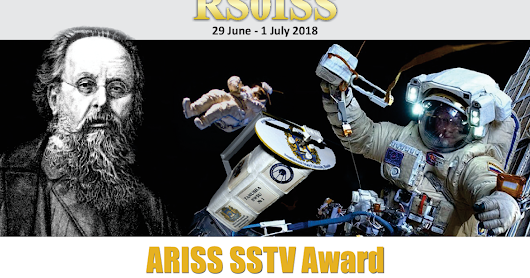 James / M0JFP on get surrey TV talking about recent ISS SSTV transmissions