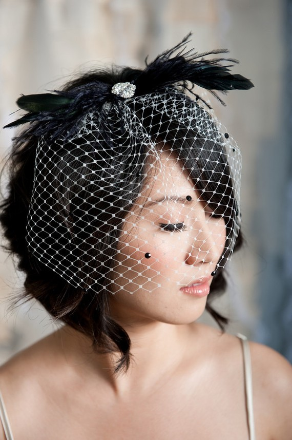 SANOJAH'S: DIY Bride... How to Make Your Own Birdcage Veil  SANOJAH'S: ...