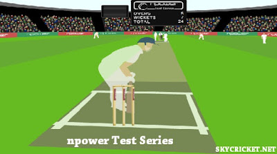 Online npower Test Series Game