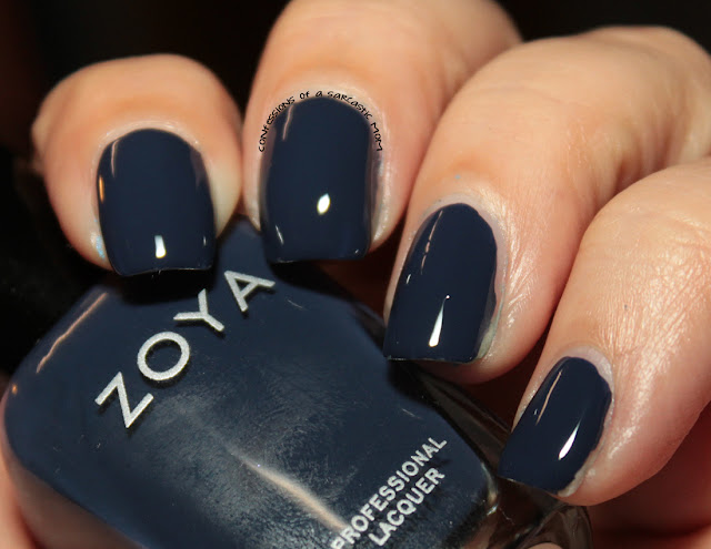 Zoya Sailor | 31 Days of Blue for Huntington's Awareness