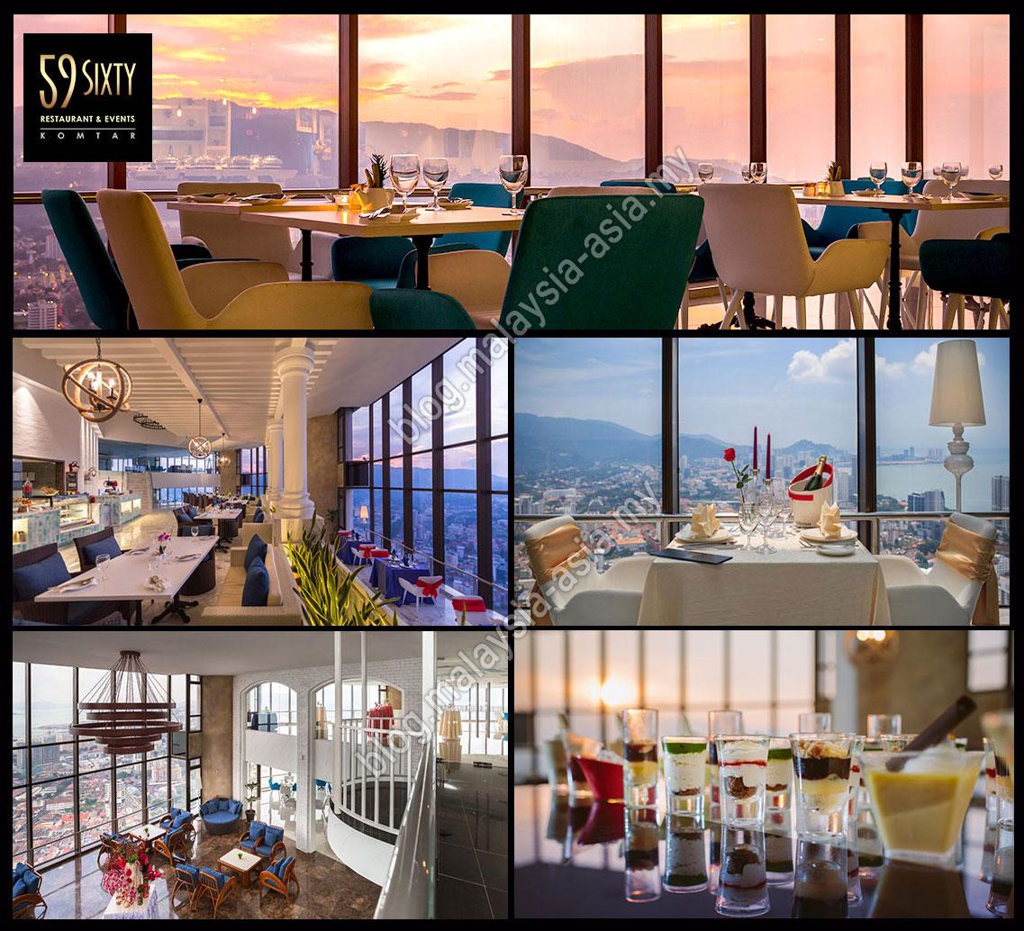 59 Restaurant At Komtar Penang Photo From The Top