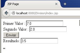Web Application - División en una misma página