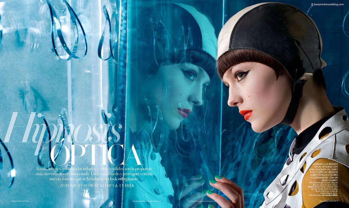 Harperamber: Harper's Bazaar En Español With Model-Actress Amber