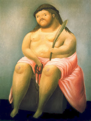 Obese Jesus picture