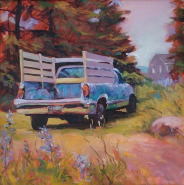 Станковая живопись. Kathy Morrissey