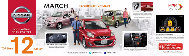 Promo Nissan March DP Ringan Murah