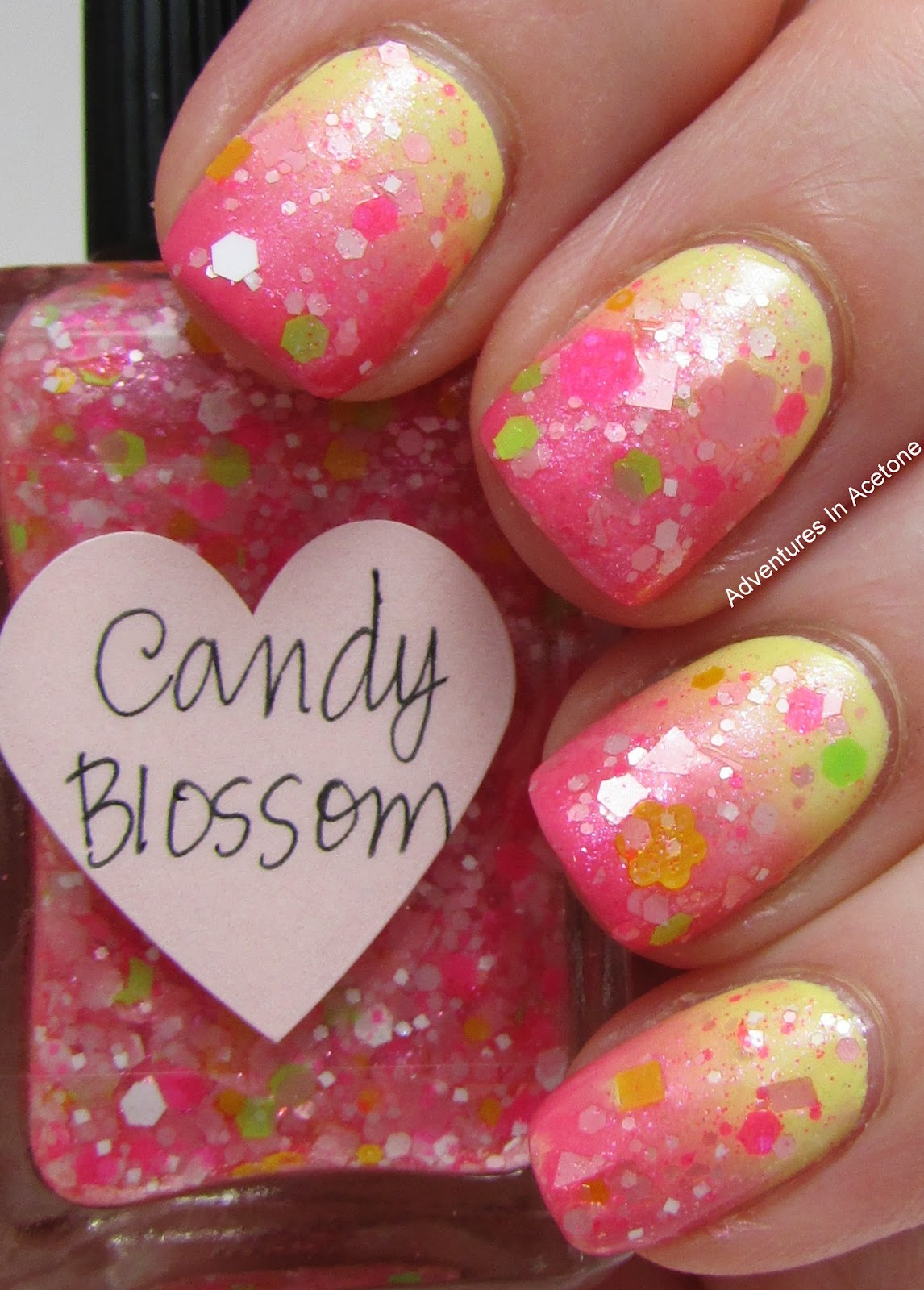 Candy K Whatlucyloves: Mommy's NOTD: Fun, Spring Nails!