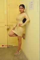 Actress Pooja Roshan Stills in Golden Short Dress at Box Movie Audio Launch  0019.JPG