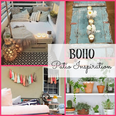 Inspiration for a boho patio