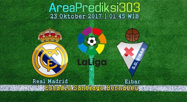 Prediksi Jitu Real Madrid vs Eibar 23 Oktober 2017