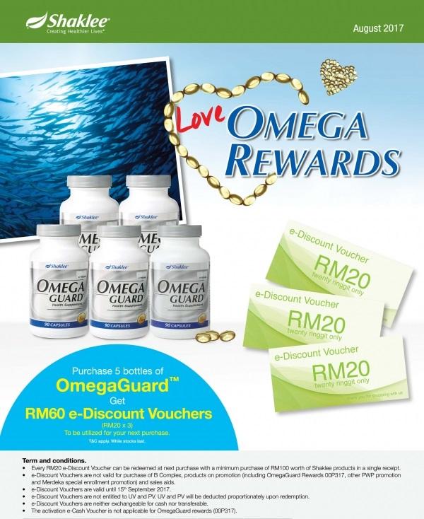 Promosi Shaklee Ogos, Promo Ogos, Omega Guard