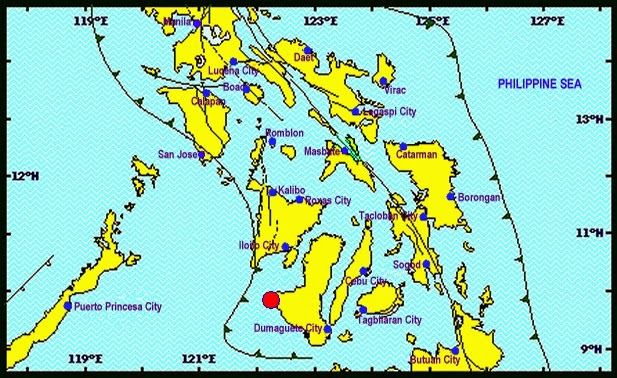 Magnitude 4.5 Sipalay (Negros Occidental) January 26, 2015